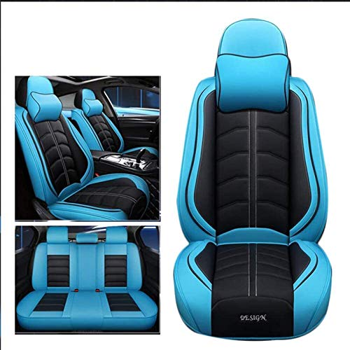 WFSH Car seat cover, compatible with Bentley Continental, Flying Spur, GT, GT Speed, GTC, Mulsanne, Speed (Color : Blue, Size : Speed)