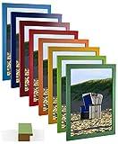 myposterframe Bilderrahmen 50 x 70 cm Juno Bunt Größen