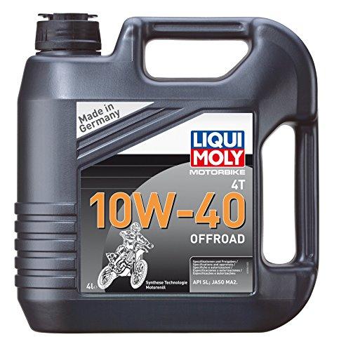 LIQUI MOLY 10W-40 OFFROAD Synthese Technologie Motorelöl,4 L