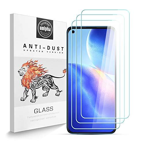 Panzerglas Schutzfolie für OPPO Find X3 Neo, 9H-Festigkeit Tempered Glass, Anti-Kratzer, Einfache Installation, Bruchsicher Bildschirmschutzfolie für OPPO Find X3 Neo [3 Stück]