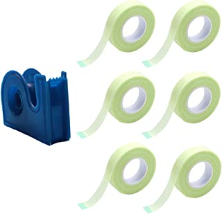 Beaupretty 7Pcs Wimper Plakband Stof Lash Extension Tapes Ademend Onder Eye Valse Wimper Enten Tapes Diy Sticker Met Cutte...