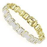 Diamond Bracelet in 10K Gold 3.2ctw (Yellow Gold)