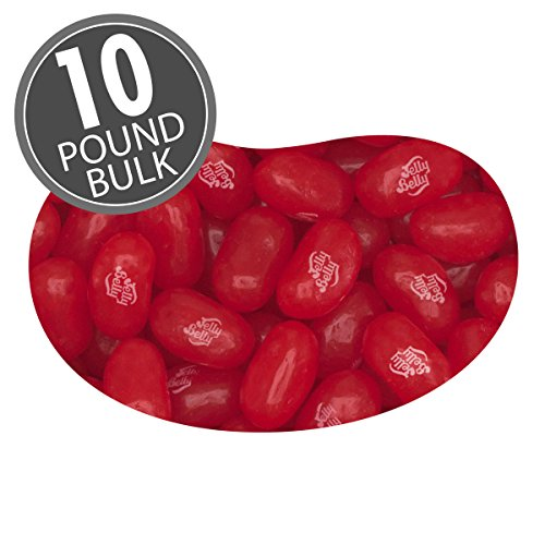 Jelly Belly Sizzling Cinnamon Jelly Beans - 10 lbs bulk - Genuine, Official, Straight from the Source