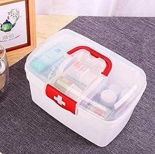 XZHMYYH Medicine box Home medical first aid kit versatile plastic box storage box medicine box (Color : Big Red)