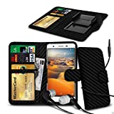N4U Online® - Clip On PU Leather Wallet Case Cover &