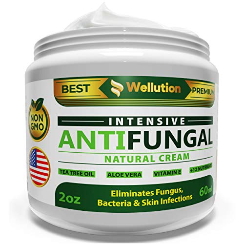 Antifungal Cream - Extra Strength - Effective Toenail Fungus Treatment and Ringworm Treatment for Humans - Combats Body Acne, Athletes Foot, Jock Itch - 100% Natural - Made in USA - 2 OZ