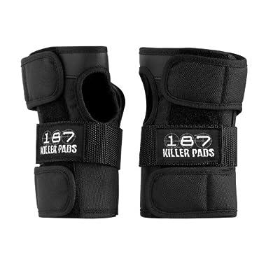 187 Killer Pads Wrist Guards (Black, Medium)