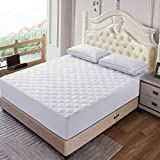 ELAFY Quilted Mattress Protector Cover | Bedding Topper Cover | Waterproof Fitted Mattress