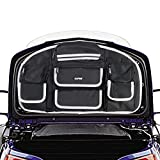Best Motorcycle Trunks - AUFER Motorcycle Tail box Trunk Lid Organizer Bag Review