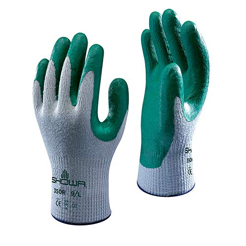 Gants de Jardinage Showa 350R Prise Nitrile - Gestion Épine - Extra Large