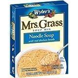 Mrs. Grass NOODLE SOUP Mix 4.2 OZ.(4 Boxes)