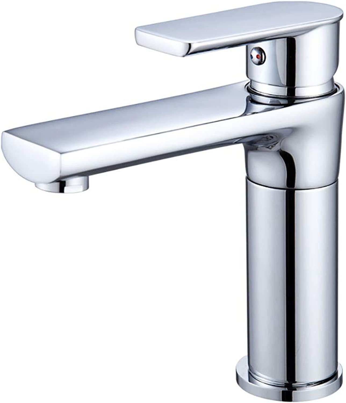Yany Kupfer heier und kalter Wasserhahn Waschraum Waschbecken rotierenden dicken Messing Becken Wasserhahn Becken Wasserhahn