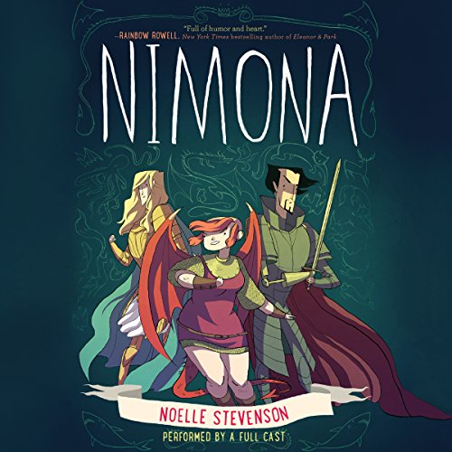 Nimona                   By:                                                                                                                                 Noelle Stevenson                               Narrated by:                                                                                                                                 Rebecca Soler,                                                                                        Jonathan Davis,                                                                                        Marc Thompson                      Length: 2 hrs and 16 mins     267 ratings     Overall 4.4