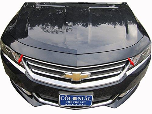 QAA fits 2014-2020 Chevrolet Impala 2 Piece Stainless Head Light Accent Trim HL54135
