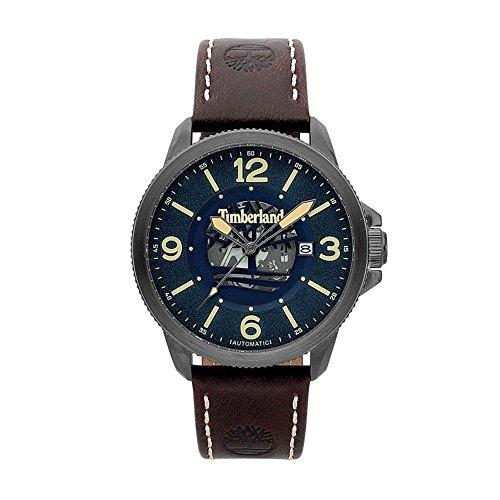 orologio Timberland uomo Biddeford Marrone Blu 15421JSU-03 [AB5888] -...