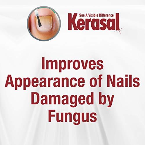 Kerasal Multi-Purpose Nail Repair, Nail Solution for Discolored and Damaged Nails, 0.43 fl oz
