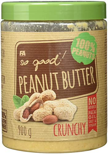 FITNESS AUTHORITY Peanut Butter Crunchy, 900 g