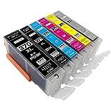 BCI-371XL+370XL/6MP ZAZ 互換インク BCI-371XL BCI-370XL 6色1年保証付 XL大容量タイプ ICチップ付 残量表示可能 6色1セット (370-6-1-L)