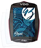 Bruni Película Protectora para VDO M6.1 Protector Película,...