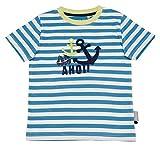 Sigikid Jungen, Mini T-Shirt, Blau (Niagara 511), (Herstellergröße: 104)