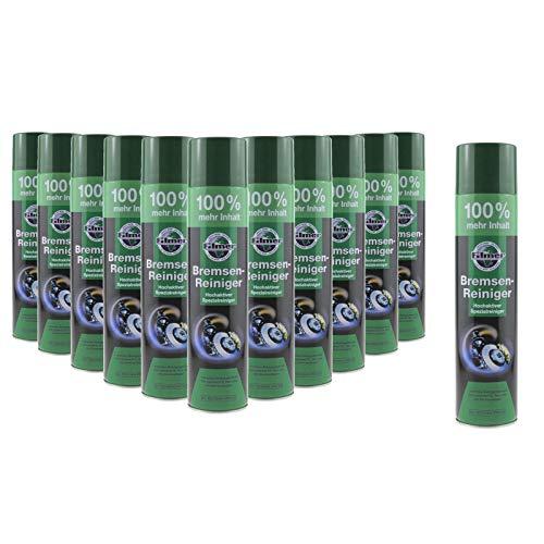 P4B | Detergente spray per freni | Pulizia altamente attiva per la rimozione di polvere, sporco e lubrificanti | Uso in industria/artigianato | Pulitore per freni