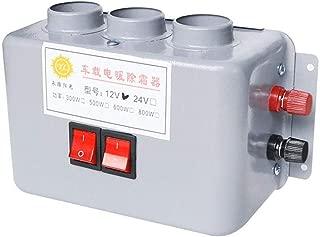 Riscaldatore per auto Riscaldamento 2 Prese larghe Keenso 12V 24 V Regolabile in ceramica per riscaldamento auto Riscaldatore Sbrinatore Demister 150W-500W