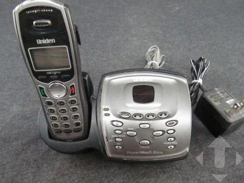 Uniden TRU9480 5.8GHz Cordless Phone Expandable Digital Answering System
