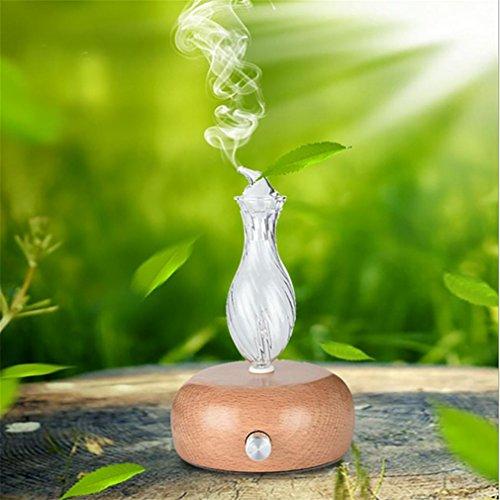 LL-Diffuseur d'aromathérapie à l'huile essentielle de nébuliseur, usage domestique et professionnel de qualité supérieure, sans chaleur, sans eau, sans plastique