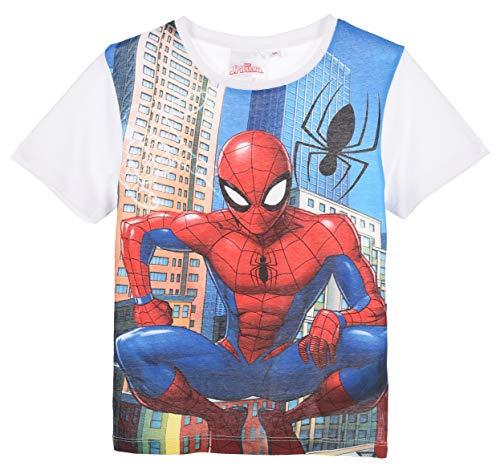Spiderman Bambino T Shirt Maniche Corte