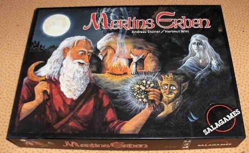 Merlins Erben. Brettspiel.