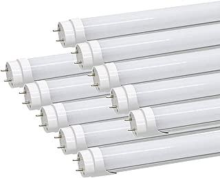 LED蛍光灯 40W形 直管 120cm G13口金 昼光色 高輝度 2300LM グロー式工事不要 10本セット