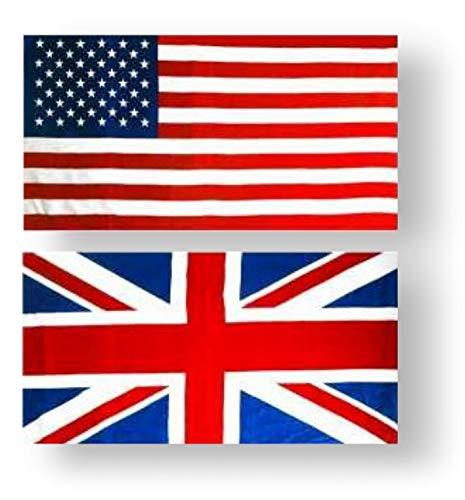 SpazioTessile Telo Mare Piscina Palestra Bagno Morbida Micro Spugna 100% Cotone Misura 85x158 (Bandiera England)