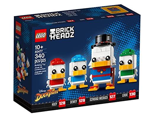 レゴ(LEGO) ブリックヘッズ ǀ ディズニー スクルージ・マクダック、ヒューイ、デューイ、ルーイ(40477)