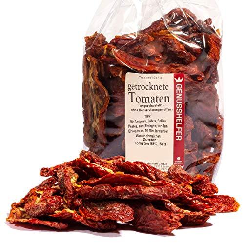 Tomaten Trockenfrüchte, ganz getrocknet, hoch aromatisch, ohne Geschmacksverstärker, 180g - Bremer Gewürzhandel