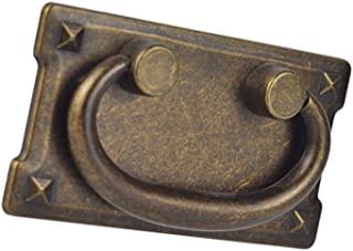 D DOLITY Chinese Style Cabinet Pull Rings Drawer Door Pull Handles for Kitchen Cabinet - Bronze, 95x52mm