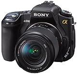 ソニー SONY デジタル一眼レフカメラ α300 18-70レンズキット ブラック DSLRA300K