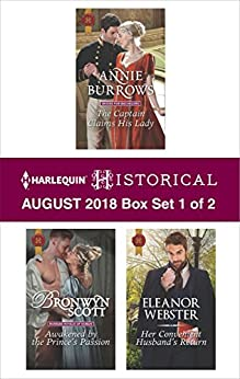 Harlequin Historical August 2018 - Box Set 1 of 2 by [Annie Burrows, Bronwyn Scott, Eleanor Webster]