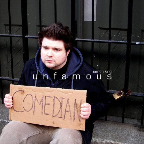 Unfamous Comedian audiobook cover art