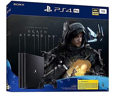 Sony Playstation 4 1TB Pro INKL Death Stranding USK 16