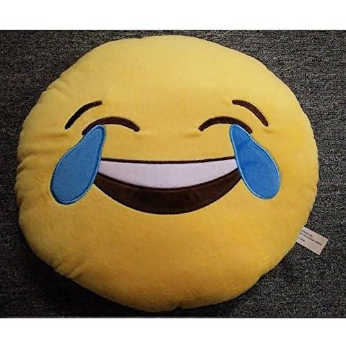 Emoticones, Cojín de Emoji Sonriente Suave y Cómodo ...