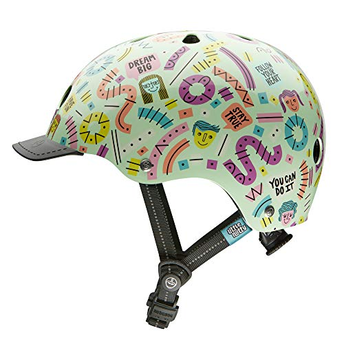 Nutcase Little Nutty Unisex-Jugendhelm, Mehrfarbig, XS