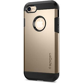 【Spigen】 iPhone7 ケース 米軍MIL規格取得 落下 衝撃 吸収 タフ・アーマー 042CS20490 (シャンパン・ゴールド)