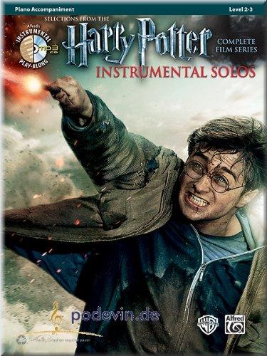 Harry Potter Instrumental Solos - Selections from the Complete Film Series - Klavierbegleitung - Klaviernoten [Musiknoten]