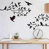 Zyzdsd Ebay Pájaro Caliente Ramificación De Vinilo Pegatinas De Pared Dormitorio Decoración De La Sala De EstarExtraíble Tatuajes De Animales Arte Mural