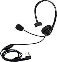 Retevis Two Way Radio Earpiece with Mic Noise Cancelling Headset for Kenwood Retevis RT21 RT22 H-777 Baofeng UV-5R UV-82 BF-F8HP Walkie Talkie(1 Pack)