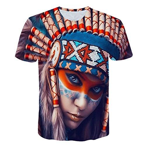 LKFTH Lustige Physik Formel Mathe T-Shirt 3D-Druck O-Ausschnitt Herren T-Shirts 3D Loose Streetwear Geek T-Shirts Herren S As Show D