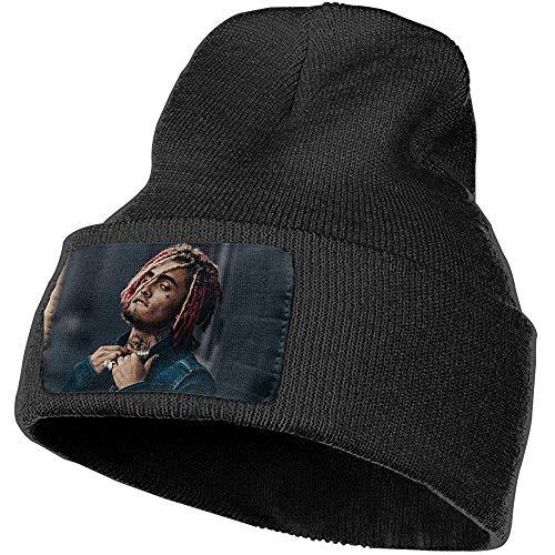 Dale Hill Unisex Gorro de Punto de Invierno Gorra Lil Pump Esketit Fashion Black Cuffed Beanie Hat