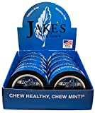Jake's Mint Chew Straight Mint Pouch 10 Cans with DC Crafts Nation Skin Can Cover - Punisher