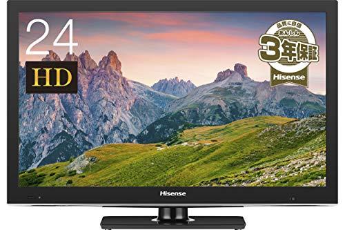 『ハイセンス 24V型 液晶 テレビ HJ24K3120 ハイビジョン 外付けHDD裏番組録画対応 2017年モデル』の1枚目の画像