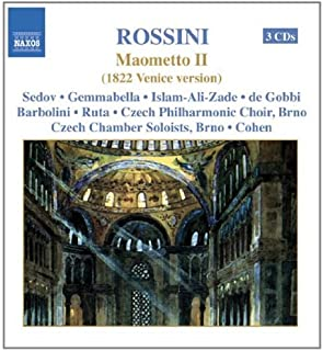 进口CD:焦阿基诺•罗西尼:歌剧《穆罕默德二世》 Rossini:Maometto Secondo(3CD)8.660149-51